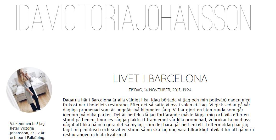 Ida Victoria Johansson