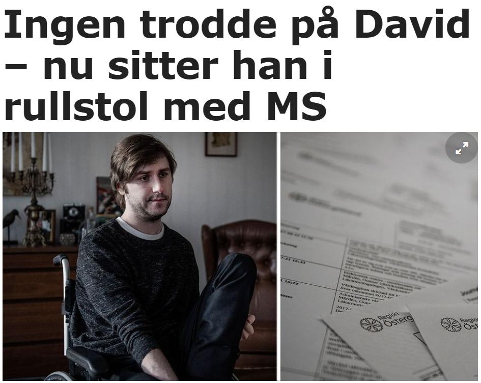 Ingen trodde på David